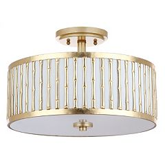 Safavieh Pierce Semi-Flush Mount Ceiling Lamp