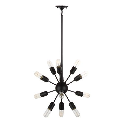 Safavieh 12-Light Industrial Pendant Lamp