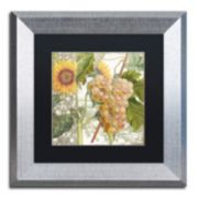Trademark Fine Art Dolcetto IV Silver Matted Framed Wall Art