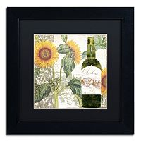 Trademark Fine Art Dolcetto V Black Matted Framed Wall Art