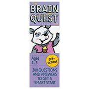 Brain Quest Pre-School Card Deck
