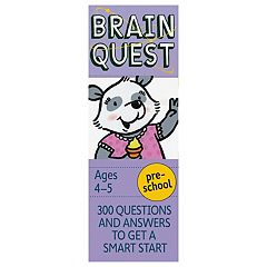 Brain Quest Pre-School Card Deck