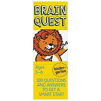 Brain Quest Kindergarten Card Deck
