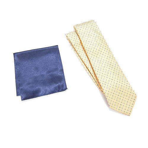 Men's Croft & Barrow® Patterned Tie & Pocket Square Set