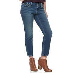 Women's Apt. 9® Zipper Accent Ankle Skinny Jeans