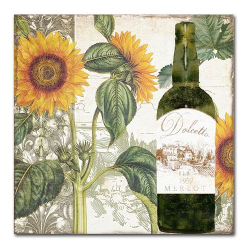 Trademark Fine Art Dolcetto V Canvas Wall Art