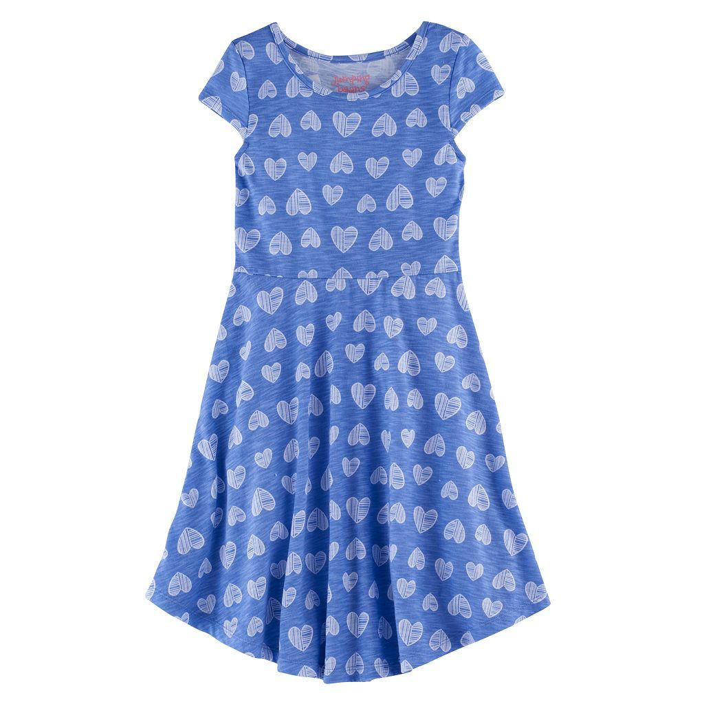 Girls 4-7 Jumping Beans® Print Skater Dress