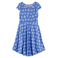 Girls 4-7 Jumping Beans® Print Skater Dress