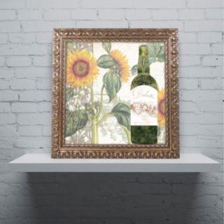 Trademark Fine Art Dolcetto V Ornate Framed Wall Art