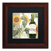 Trademark Fine Art Dolcetto V Matted Framed Wall Art