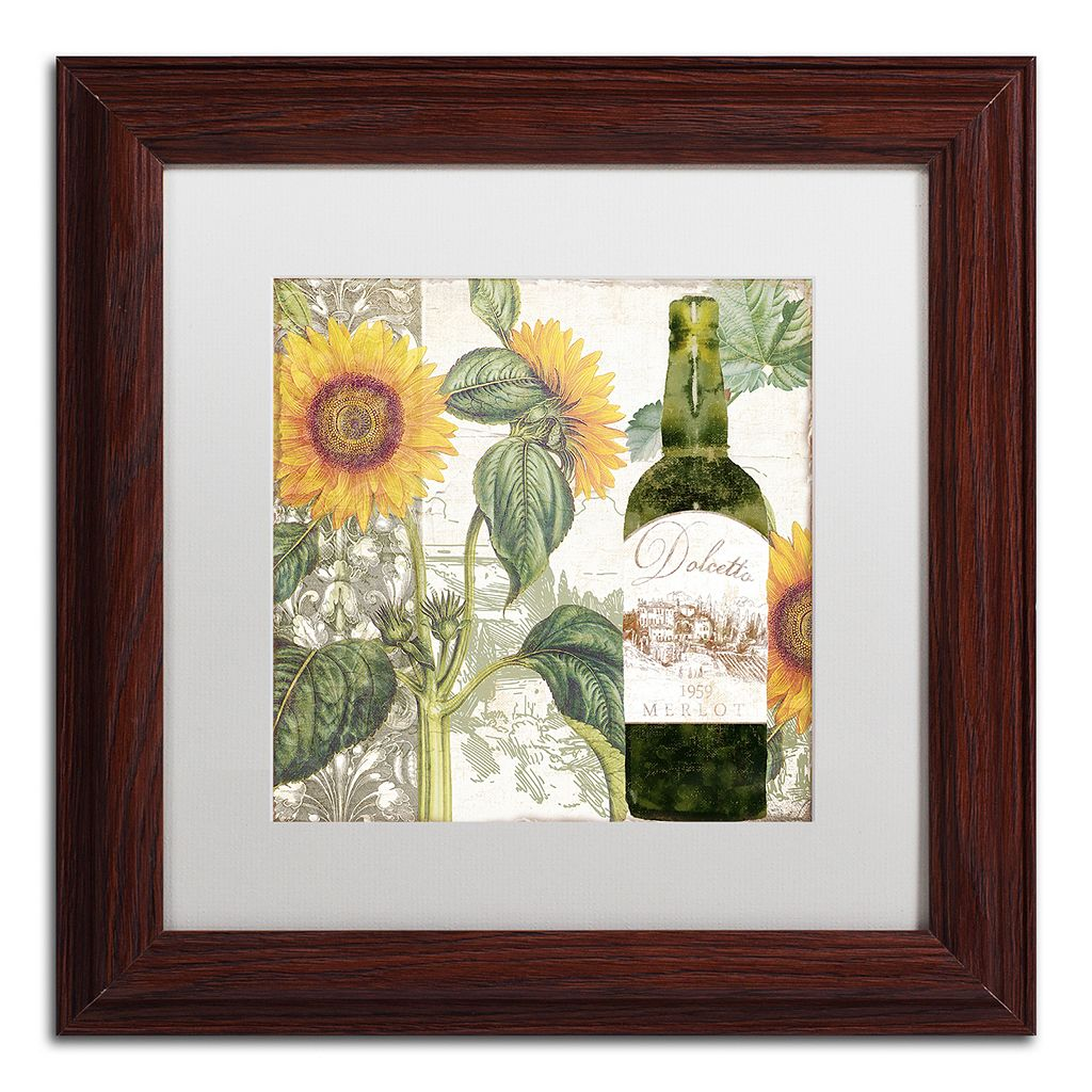 Trademark Fine Art Dolcetto V Matted Framed Wall Art
