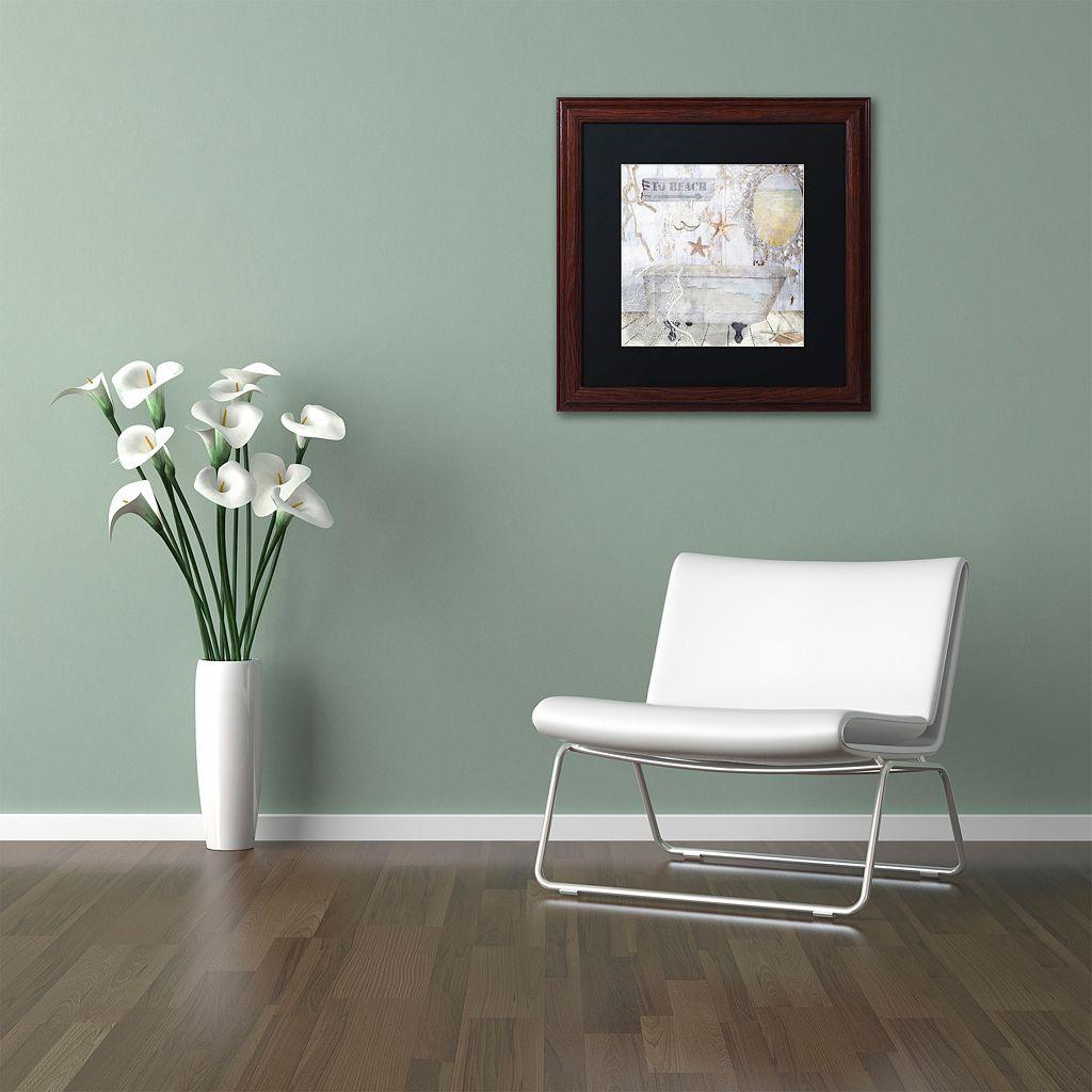 Trademark Fine Art Beach House I Matted Framed Wall Art
