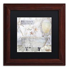 Trademark Fine Art Beach House I Matted Framed Wall Art