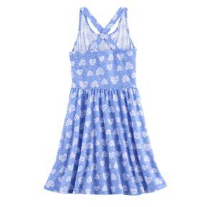 Girls 4-10 Jumping Beans® Patterned Henley Crossback Dress