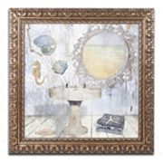 Trademark Fine Art Beach House II Ornate Framed Wall Art