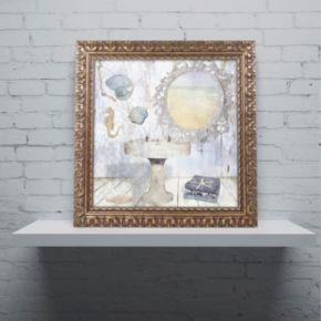 Trademark Fine Art Beach House II Ornate Framed Wall Art