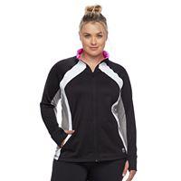 Plus Size FILA SPORT® Tru-Dry Colorblock Jacket