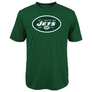 Boys 8-20 New York Jets Primary Logo Performance Tee