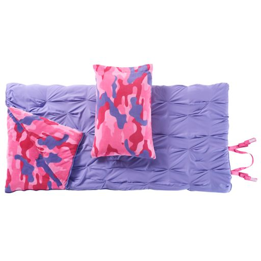 VCNY Ria Sleeping Bag & Pillow