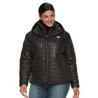 Plus Size New Balance Puffer Jacket