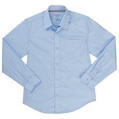 Boys 4-20 French Toast Long Sleeve Button-Down Dress Shirt