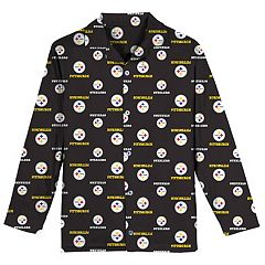 Boys 6-14 Pittsburgh Steelers Team Logo Pajama Set