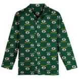 Boys 6-14 Green Bay Packers Team Logo Pajama Set