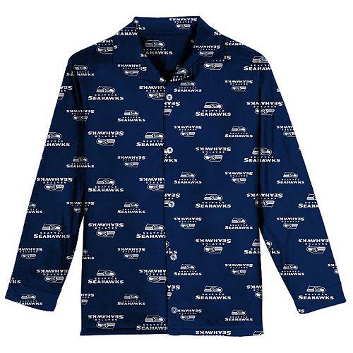 Boys 6-14 Seattle Seahawks Team Logo Pajama Set