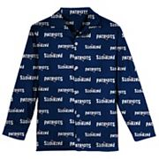 Boys 6-14 New England Patriots Team Logo Pajama Set