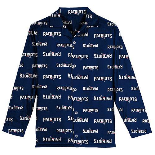 Boys 6-14 New England Patriots Team Logo Pajama Set f6514e37a