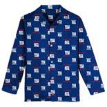 Boys 6-14 New York Giants Team Logo Pajama Set