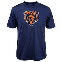 Boys 8-20 Chicago Bears Primary Logo Performance Tee