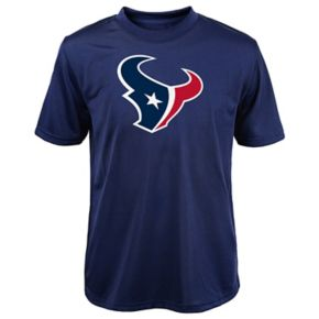 Boys 8-20 Houston Texans Primary Logo Performance Tee