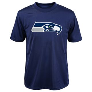 Boys 8-20 Seattle Seahawks Primary Logo Performance Tee