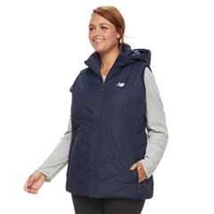 Plus Size New Balance Quilted Puffer Vest