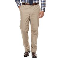 Big & Tall Croft & Barrow® Classic-Fit Stretch Flannel-Lined Chino Pants