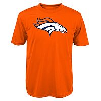 Boys 8-20 Denver Broncos Primary Logo Performance Tee