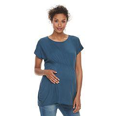 Maternity a:glow Shirred Tunic