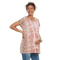 Maternity a:glow Shirred Tunic