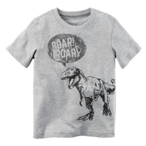 "Boys 4-8 Carter's ""Roar! Roar!"" Dinosaur Graphic Tee"