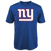 Boys 8-20 New York Giants Primary Logo Performance Tee