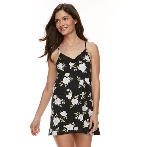 0ae273ac67c1 Women's Flora by Flora Nikrooz Hailey Knit Chemise
