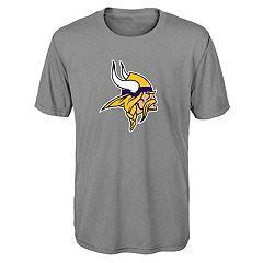 Boys 8-20 Minnesota Vikings Primary Logo Performance Tee