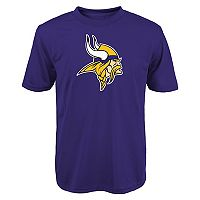 Boys 8-20 Minnesota Vikings Primary Logo Performance Tee