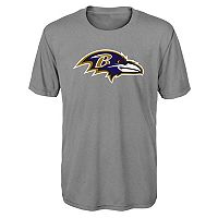Boys 8-20 Baltimore Ravens Primary Logo Performance Tee