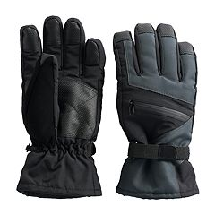 Men's Tek Gear®® HeatTek Thinsulate Touchscreen Ski Gloves