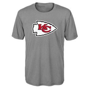 Boys 8-20 Kansas City Chiefs Primary Logo Performance Tee