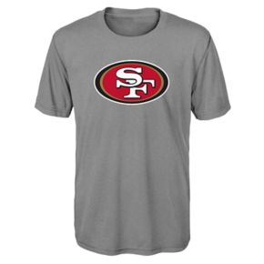 Boys 8-20 San Francisco 49ers Primary Logo Performance Tee