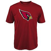 Boys 8-20 Arizona Cardinals Primary Logo Performance Tee