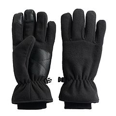 Men's Tek Gear®® HeatTek Thinsulate Microfleece Cuffed Touchscreen Gloves
